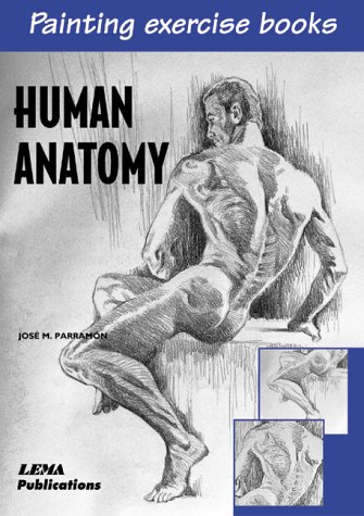 Anatomia humana: A Painting Exercise Book (Painting Exercise Books)