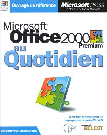 microsoft-office-2000-premium-au-quotidien-livre-de-reference-francais