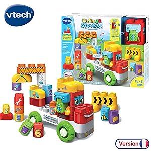 VTech Bla Bla Blocks Mon camion 1,2,3 interactif Niño - Juegos educativos (AA, 350 mm, 133 mm, 279 mm, 2,04 kg)