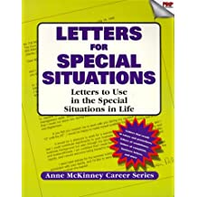 Letters for Special Situations (Anne McKinney Career Series)