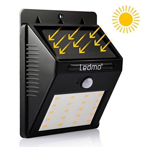 Ledmo Lampe Solaire Exterieur 20 Led Lumi Re Solaire