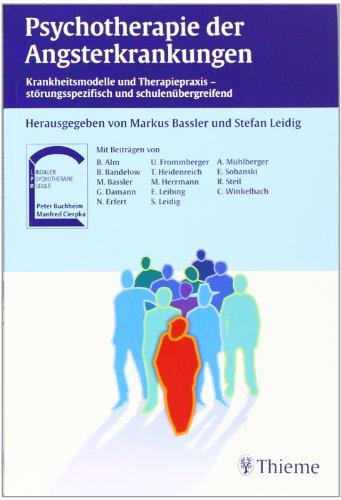 Cover »Psychotherapie der Angsterkrankungen«