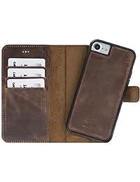 Solo Pelle Iphone 7 / 8 abnehmbare Lederhülle (2in1) inkl. Kartenfächer für das original Iphone 7 / 8