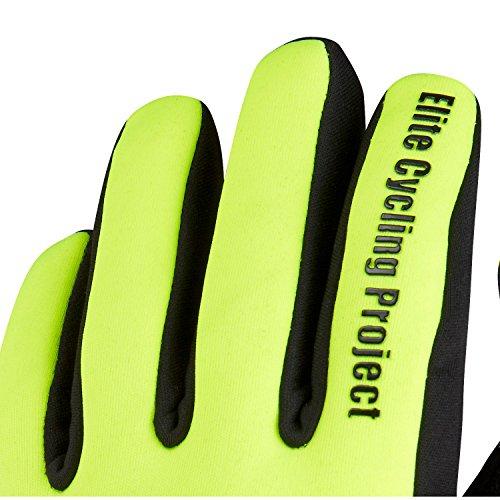 Elite Cycling Project Malmo Wasserdichte Winter Fahrradhandschuhe Gepolsterte Handflächen Thinsulate Gefüttert radsport handschuhe - 2