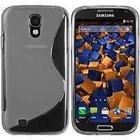 mumbi S-TPU Schutzhülle für Samsung Galaxy S4 Hülle transparent schwarz