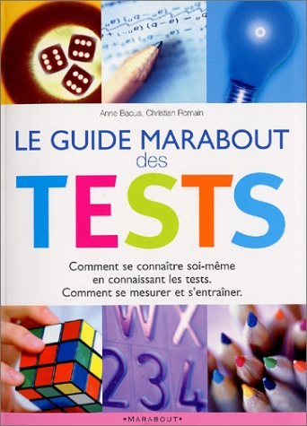Le Guide Marabout des tests par Anne Bacus