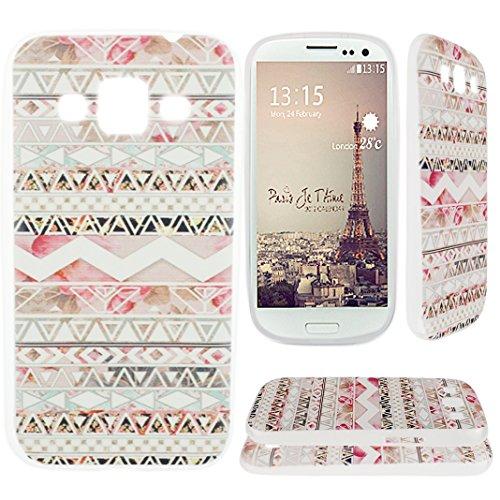Preisvergleich Produktbild Asnlove TPU Weich Schutzhülle für Samsung Galaxy S3 I9300 Hülle Tasche Case Handyhülle Schutz Etui Handytasche Cover Schutztasche(Rosa Blumen Muster)