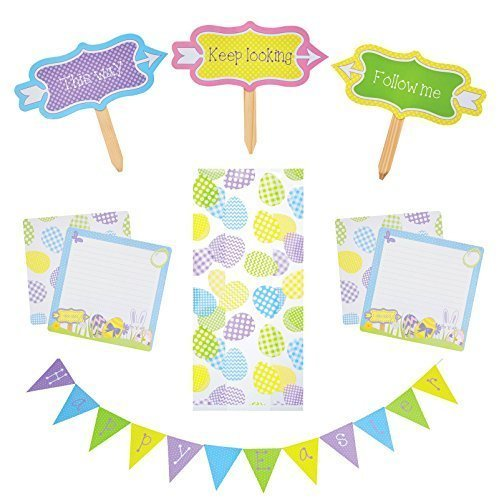 kitchen-craft-hoppity-does-it-easter-bunny-chocolate-egg-hunt-game-bunting-signs-treat-party-bags-cl