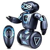 Kuman Robot Multifuncional de Control Remoto para Niños 2,4 GHz, Mini Robot Electrónico, 5 Modos de Funcionamiento, Baile, Boxeo, Conducir, Cargar, Detección de Gestos, Súper divertido Robot RC 1016A
