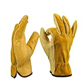 Zxllyntop-gloves Gants de Travail, Gants pour Femmes Bande de Poignet Gants de Ski...