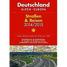 Shell Straßen & Reisen 2014/2015 Deutschland 1:300.000, Alpen, Europa