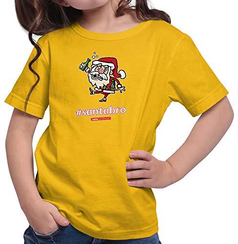 HARIZ  Mädchen T-Shirt Pixbros Santabro Xmas Weihnachten -