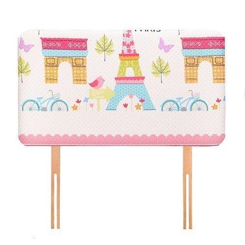 Ready Steady Bed ® Paris Children's 0.91 meters Bett-Kopfteil, für Einzelbett, gepolstert, Schaumstoff