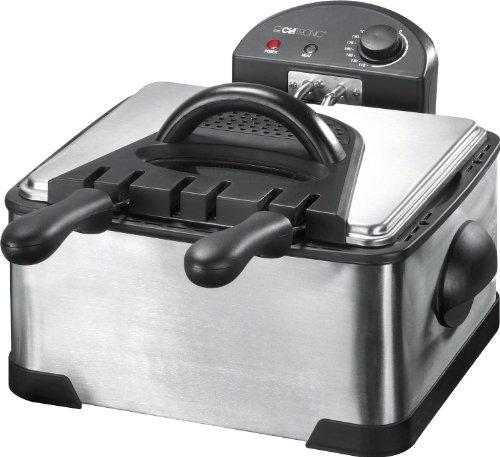 Clatronic FR 3195, friggitrice a due cestelli da 2000 W e 4 litri