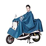 Care 4 Waterproof Poncho Rain Coat Cover (Light Blue, Standard)