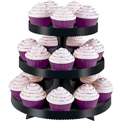Wilton Etagere schwarz Wilton Cupcake Ständer