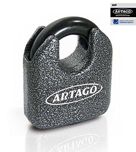 ARTAGO 68T/B Cadenas Maximum de sécurité homologué Sold Secure Gold, fabriqué en Europe