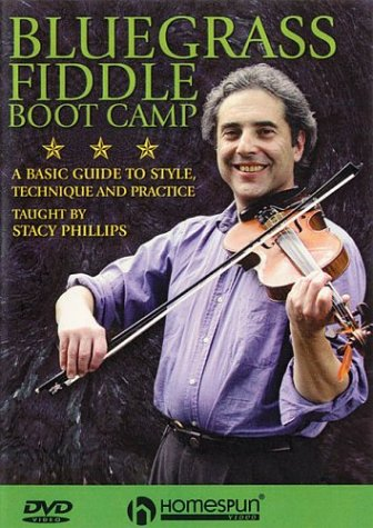 Bluegrass Fiddle Boot Camp: A Basic Guide To Style, Technique And Practice DVD. Pour Violon
