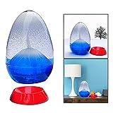 OFKPO Eruption Hourglass con Un Regalo Casero, Contadores de Tiempo de Liquid Sensory, Blanco