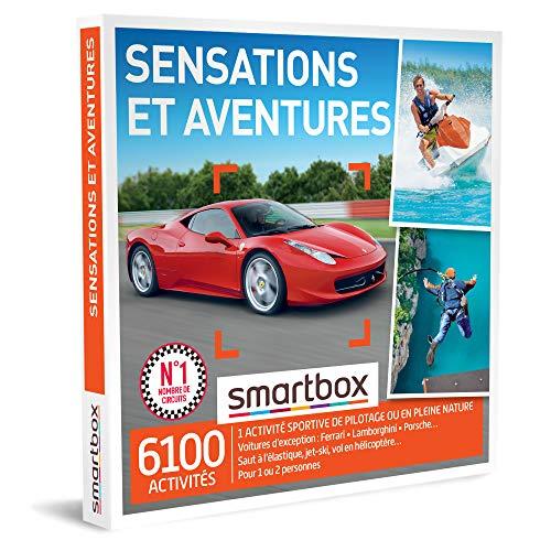 SMARTBOX - Coffret Cadeau homme femme - Sensations et Aventures - idée cadeau - 6100...