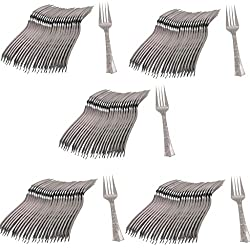 Ezee Steel finish Disposable Dinner Fork - 250 Pieces