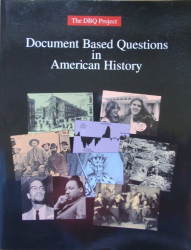 Document Based Questions in American History por Charles Brady