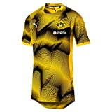 Puma Herren BVB Stadium Graphic Jersey with Sponsor Logo Trikot, Cyber Yellow, M