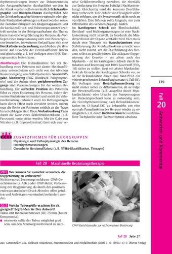 fallbeispiele notfallmedizin Fallbuch Anästhesie und Intensivmedizin: 95 Fälle aktiv bearbeiten