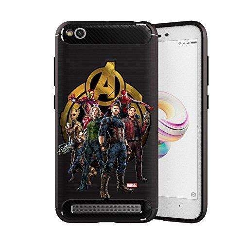 MTT Avengers Infinity War Officially Licensed Armor Back Case Cover for Redmi 3S Prime & Redmi 3S (Design 265)