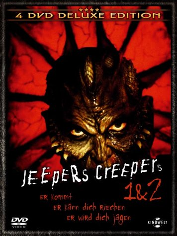 Jeepers Creepers 1 & 2 [Deluxe Edition] [4 DVDs]