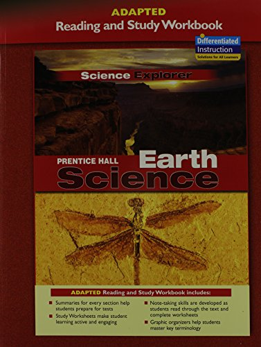 Prentice Hall Science Explorer Earth Science Adapted Reading and Study Workbook