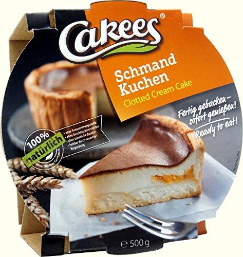 Cakees Schmand Kuchen 500g Schmandkuchen Mandarinen Quarkkuchen Fertigkuchen Gebäck