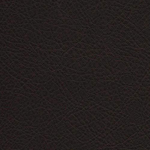 KUNSTLEDER ORLANDO Dark.Brown PVC Leder RINDSLEDER OPTIK Polster Möbel Muster -