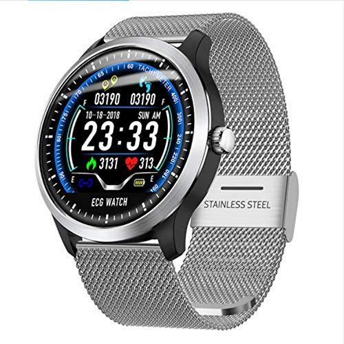 Fitness Armband Smart Watch Sport-Armband EKG- Bericht Herzfrequenz-Blutdruck-Test Ip67-Unterstützung Schritt Kalorien Zählen Schlafzeit