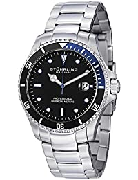 Stuhrling Original Analog Black Dial Men's Watch - 326B.331151