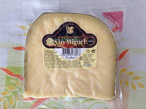 Preisvergleich Produktbild Hartkäse Kuhmilch Queijo da Ilha Velho São Miguel 9 Monate geheilt 300 Gramm Azoren Açores