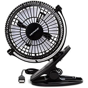 Keynice mini ventilatore da tavolo con clip usb funzionamento silenzioso ventilatore da - Ventilatore da tavolo usb ...