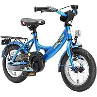 BIKESTAR® Premium Vélo pour enfants à partir d'env. 3 ★ Edition Classic 12 ★ Couleur Bleu