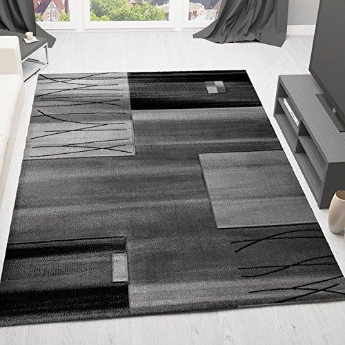 VIMODA-florida9088-Teppich-Modern-Designer-Klassik-Kariert-Gestreift-dicht-gewebt-Geprft-auf-Schadstoffe