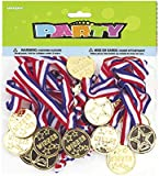 Winners Medals Party Bag Fillers, Pack of 24