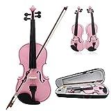 ammoon Violine Geige Basswood Stahl String Arbor Bug Saiteninstrument musikalische Spielzeug für Kinder-Anfänger