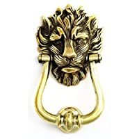 Large Solid Brass Lion