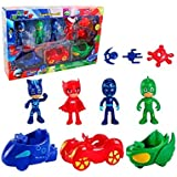 PJ Masks Cars and Action Figure Set