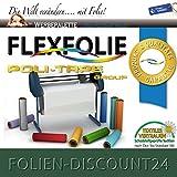 FLEXFOLIE BÜGELFOLIE 1 METER x 500mm PU POLI-FLEX PREMIUM 407