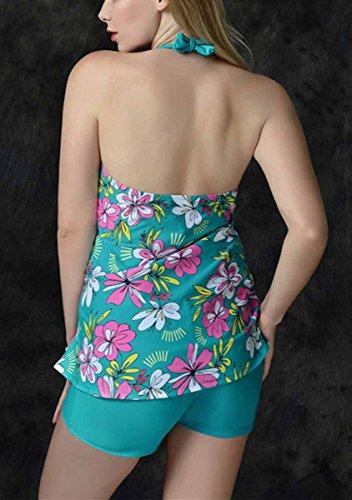 acf03746c690 FEOYA - Mujer Bañadores Reductor Tallas Grandes Traje de Baño ...