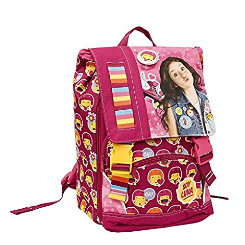 Soy Luna Children's Backpack, Roma (Pink) - YL900000