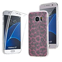 NWNK13Ž Samsung Galaxy S7 Ultra Thin 360- degree Protective Front And Back Complete Transparent Plain / Patterned TPU Gel Case. (CPL)
