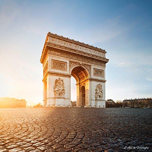 Artis 614991Kunstdruck auf Plexiglas Arc de Triomphe Mehrfarbig 3,5x 90x 90cm
