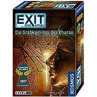 KOSMOS Spiele 692698 - EXIT - Das Spiel - Die Grabkammer des Pharao, Kennerspiel des Jahres 2017