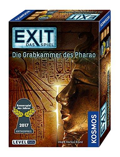 - Das Spiel - Die Grabkammer des Pharao, Kennerspiel des Jahres 2017, Level: Profis, Escape Room Spiel ()